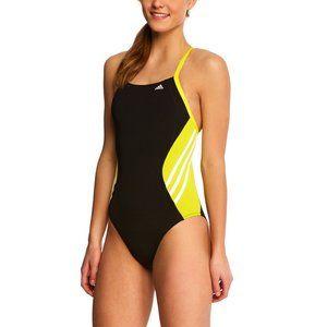 Adidas Infinitex Solid Splice Vortex Swimsuit